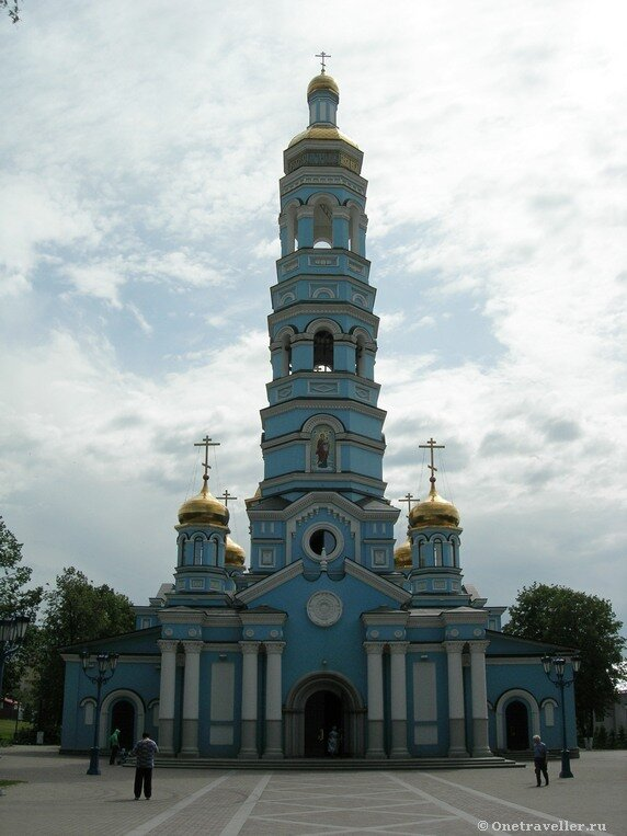 Уфа. Кафедральный собор Рождества Богородицы.