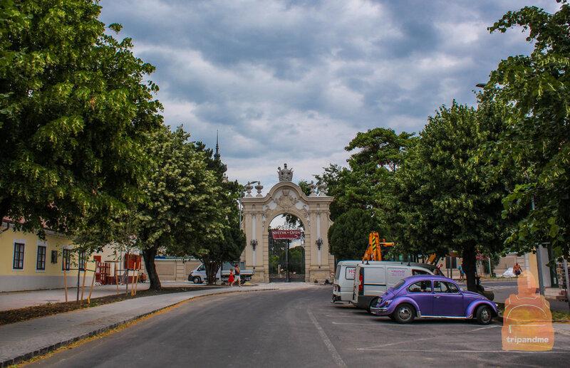 Ворота во дворец Фештетичей