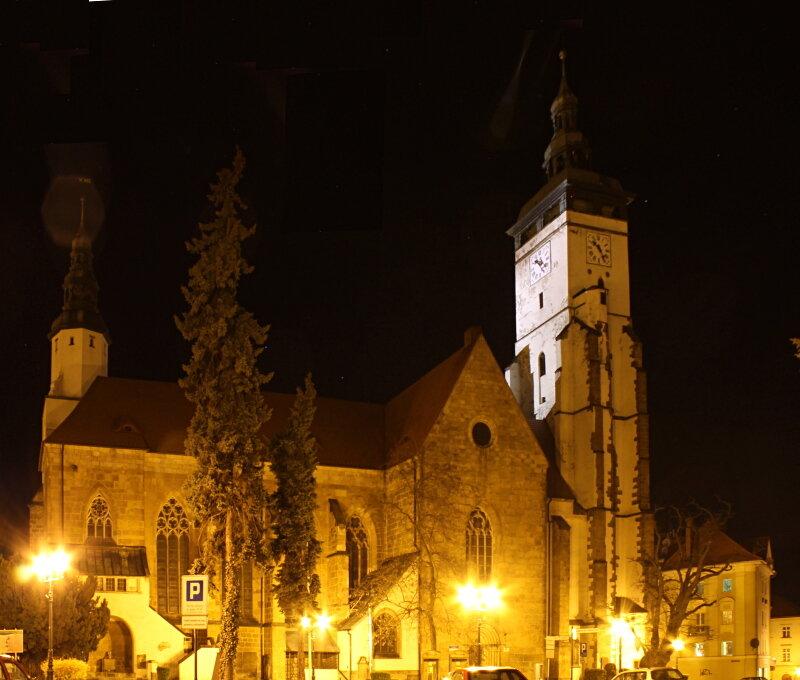 Złotoryja. The Church Of The Nativity Of The Blessed Virgin Mary. kościół pomocniczy pw. Narodzenia Najświętszej Maryi Panny. Złotoryja.