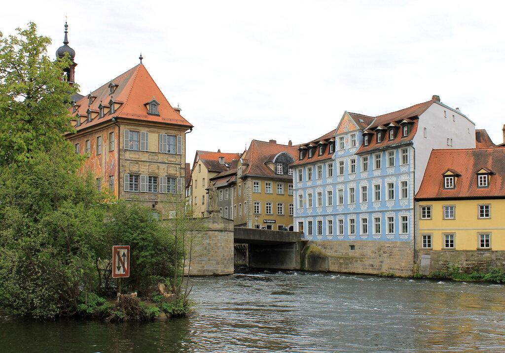 Бамберг. Старя ратуша.  Bamberg. Altes Rathaus