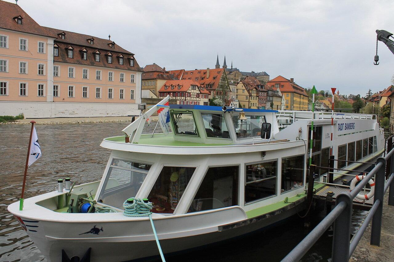 Bamberg. Regnitz River