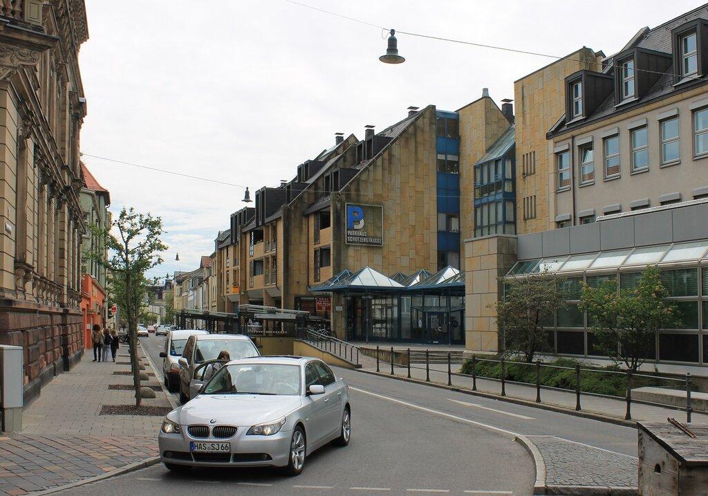 Бамберг. Немецкий городской дом (Deutsches Bürgerhaus)
