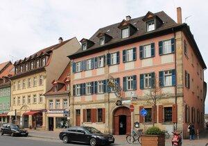 Bamberg. Obere Königstraße, Brauerei
