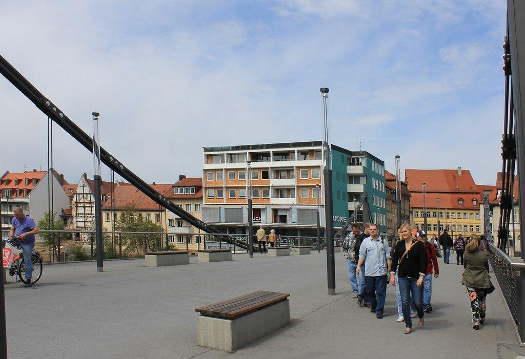 Бамберг. Цепной мост (Kettenbrücke)