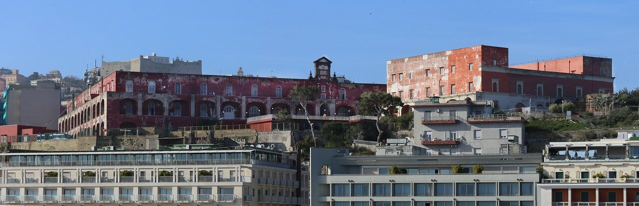 Naples. View from castle of the Egg