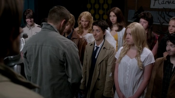 Актеры и персонажи эпизода 10.05 Fan Fiction