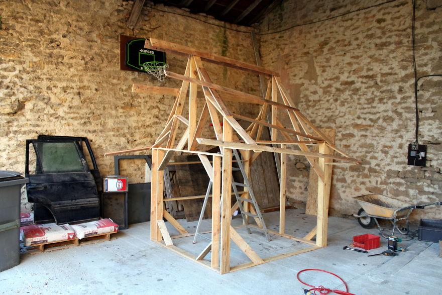Как построить настоящий замок для ребенка (15 фото)