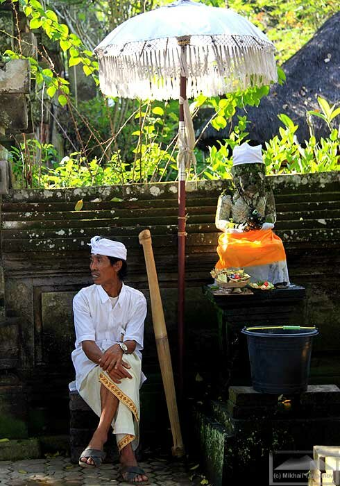 На одалане в храме Самуан Тига