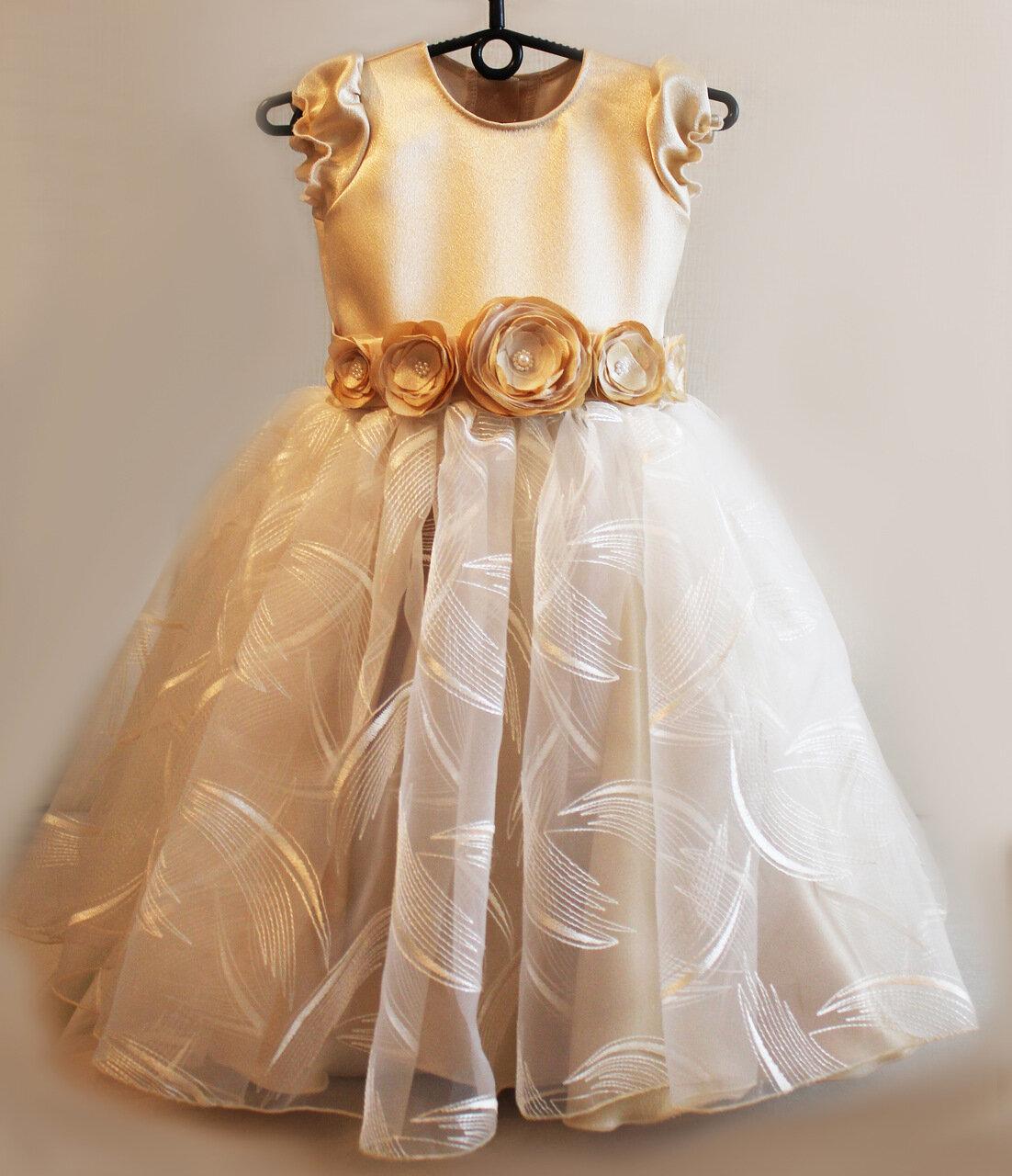 детское платье нарядное наряд для маленькой девочки