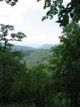 Вид с вершины горы.