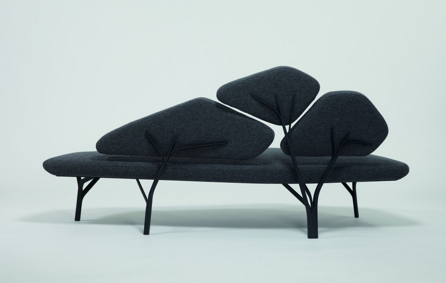 Софа Borghese от дизайнера Noe Duchaufour Lawrance