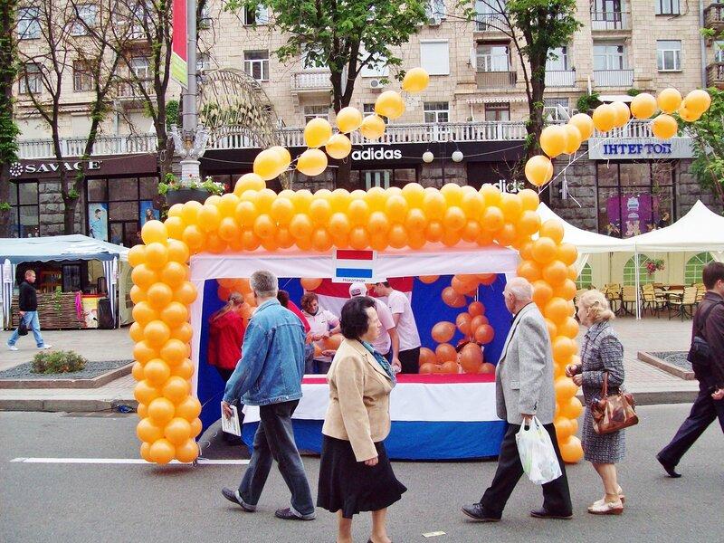 Палатка Нидерландов на Дне Европы в Киеве
