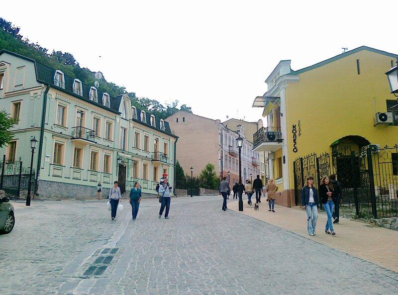 Здание театра Колесо на Андреевском спуске
