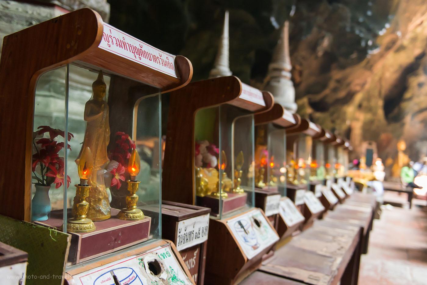 Фото 21. Пещера Луанг в Таиланде. Самостоятельный отдых. Маленький Будда (съемка с рук, объективNikkor24-70/2.8, ИСО 4000, 29, 2.8, 1/160)