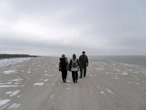В походе, побережье Азовского моря