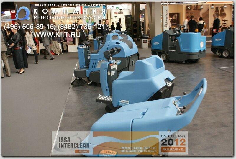 Компания FIMAP (Италия) - ISSA/Interclean Amsterdam 2012