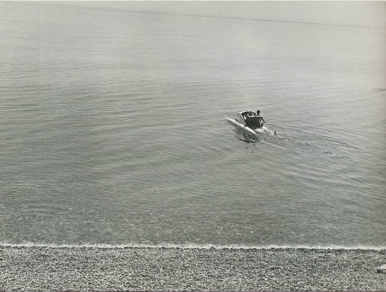 Пикап на пляже при помощи катамарана. Часть 5