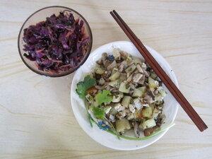 Грибное рагу с картофелем