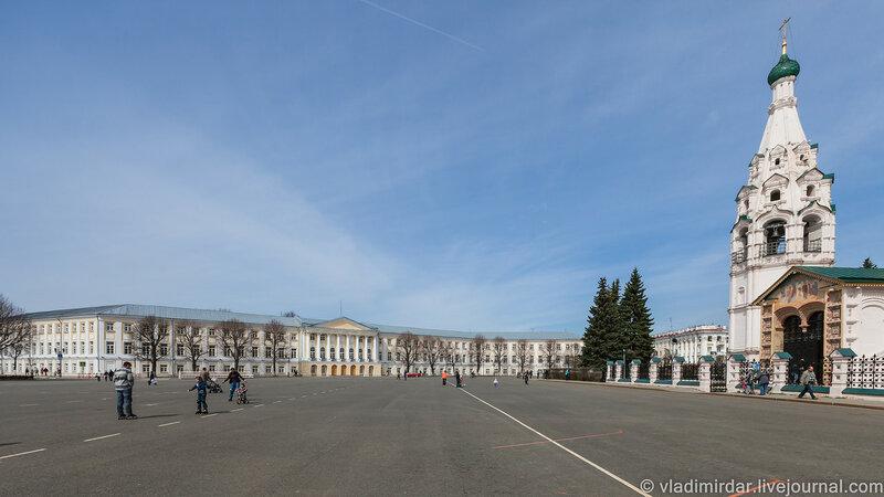 Ильинская площадь в Ярославле