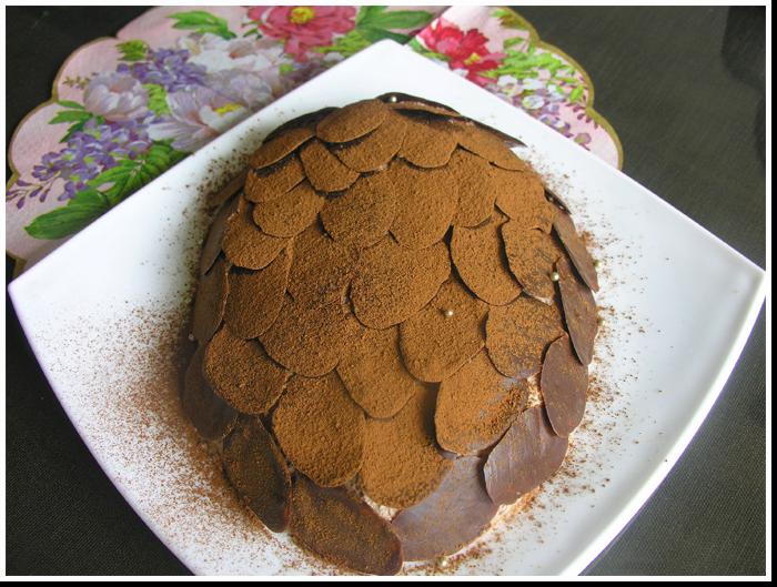 торт шишка фото рецепт