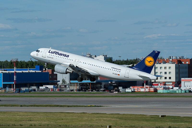 Airbus A320-214 (D-AIZN) Lufthansa D808770