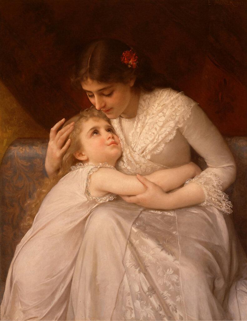 Мама с ребенком фото 19 век