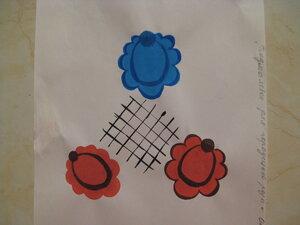 УРОК 3.Разделка (оттеневка) цветов