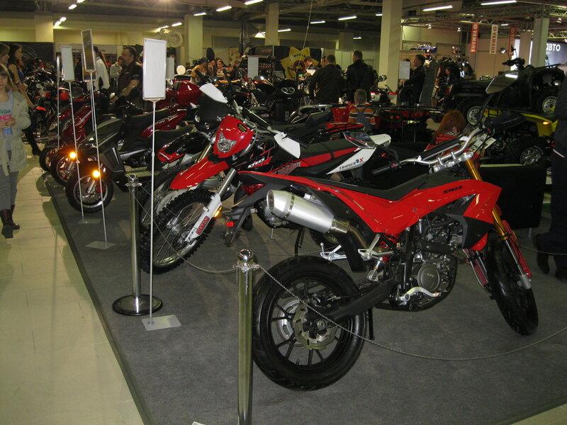 Мотосалон IMIS-2012 в «Гарден Сити». Линейка мотоциклов Stels.