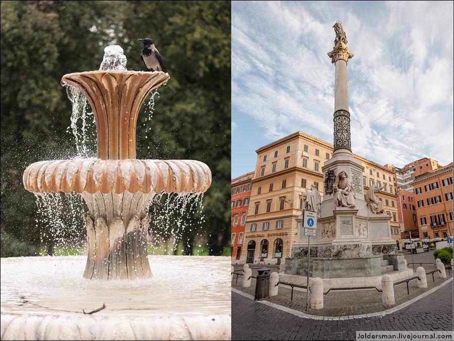 фонтаны Рим