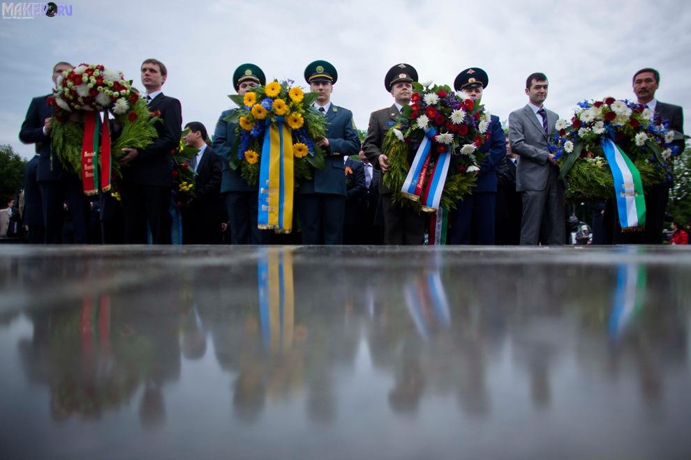 Празднование дня победы в москве 2015