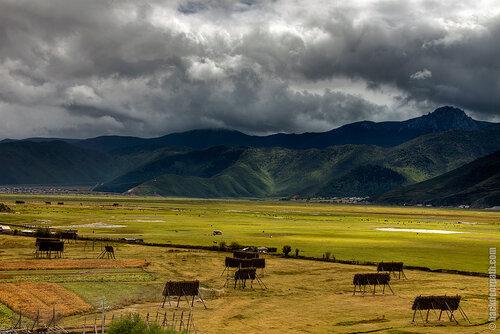 озеро Напахай, Шангри-ла, провинция Юньнань, Китай