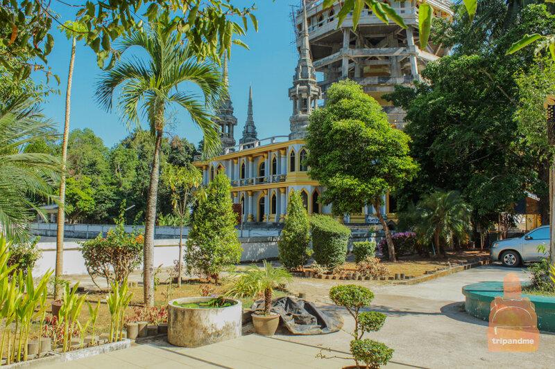 храм тигра краби