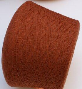 2663. Lambswool Бронзово коричневый с лёгким меланжем..JPG