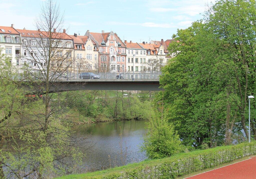Бамберг. Mост Marienbrücke