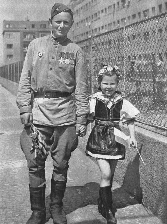 Освобождение Праги Красной Армией (61 фото)