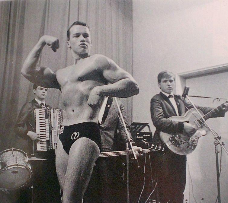 Арнольд Шварценеггер, 1963.