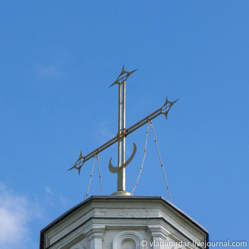 Крест Храма Вознесения Господня в Коломенском