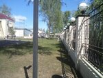 Забор. Незаглубленный ростверк на винтовых сваях