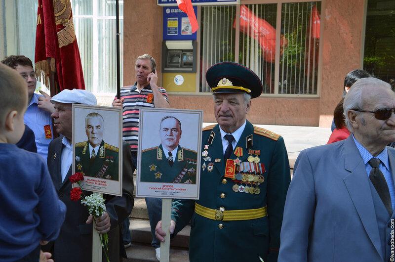Ставропольские ветераны (9 мая 2012 года)