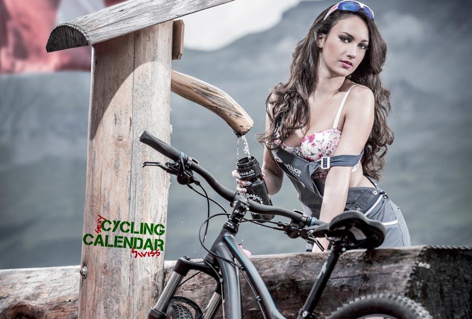 Сексуальные велосипедистки в календарях Sexy-Cycling Kalender Swiss