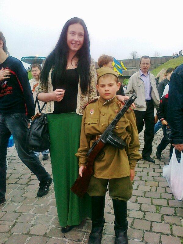 Молодой солдат