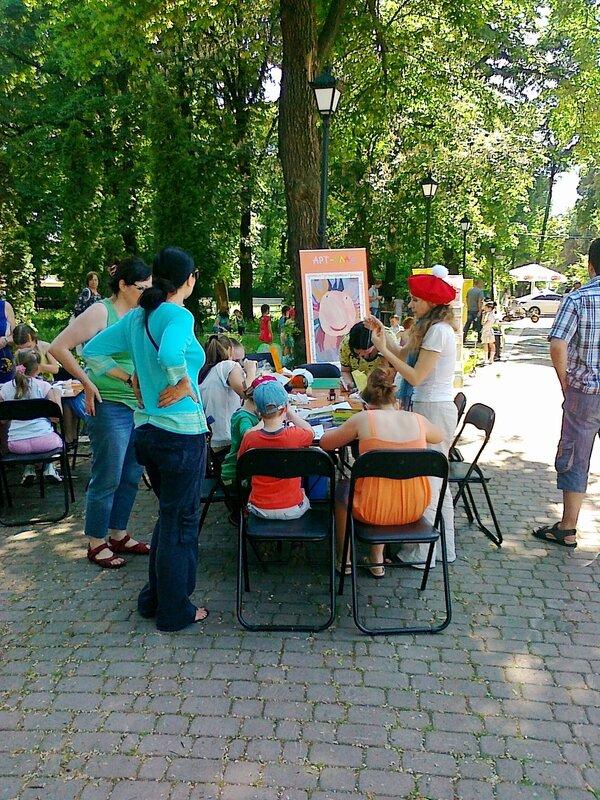 Арт-класс в Мариинском парке