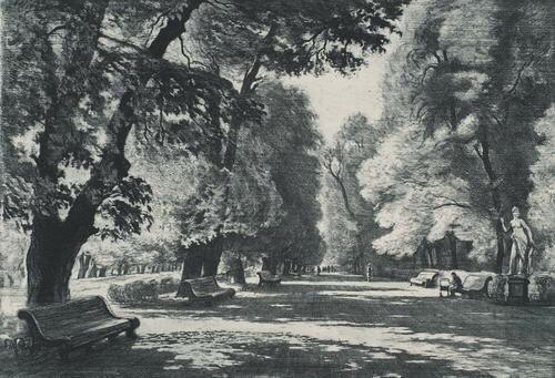 Белоусов П. П. Летний сад, 1969