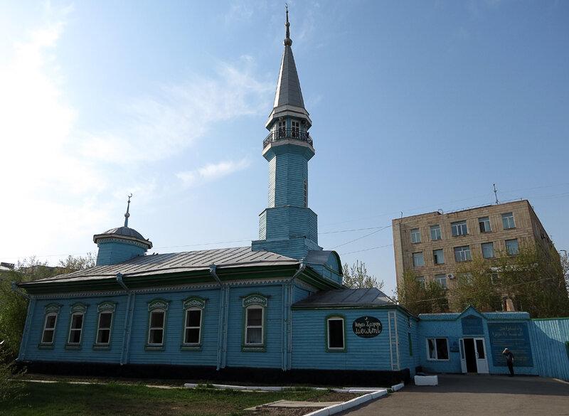 Старинная (1904) деревянная мечеть имени Науана Хазрета - 2012 год. Комментарии к фото - Кокшетау Онлайн
