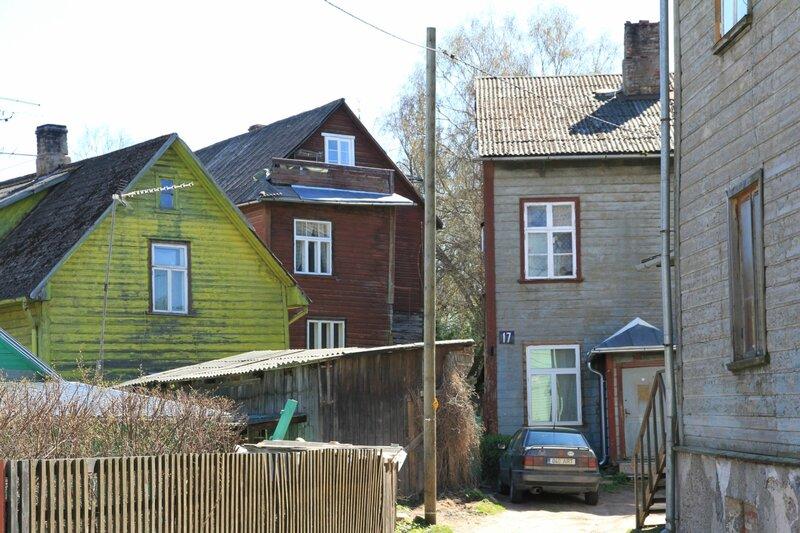 Эстония, Тарту, улица Kroonuaia