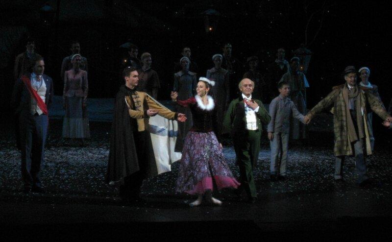 """""""Анюта"""", 03 июня 2012 г., балет Большого театра, поклоны"""
