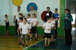 Спортивная эстафета посвящённая Дню Защитника Отечества (начальные классы) 2012