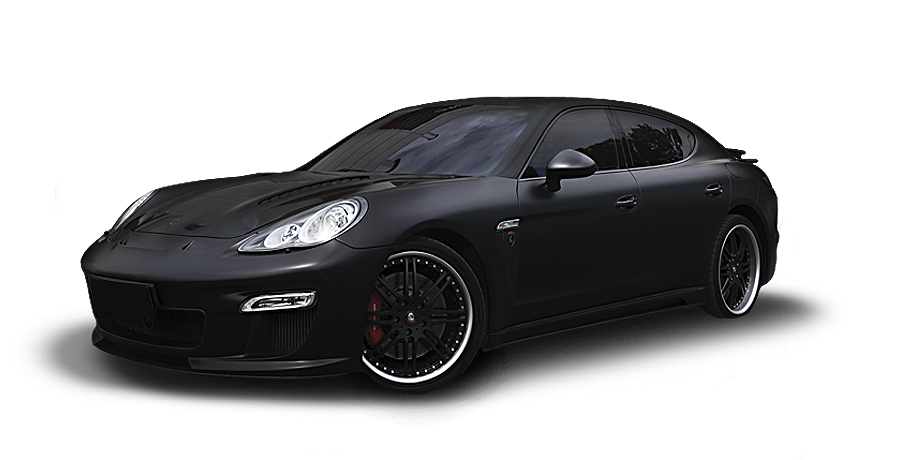 Черный матовый Porsche