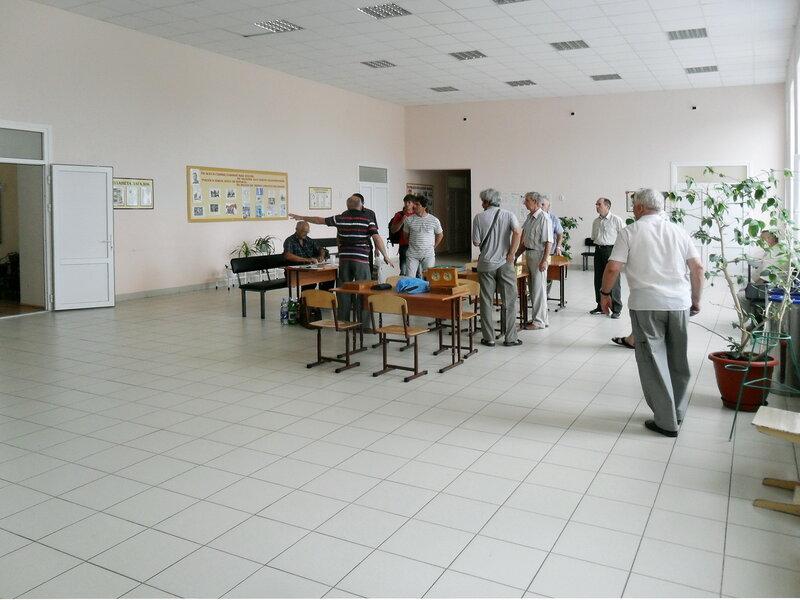 Зал в школе станицы Бриньковской, перед началом соревнований... 18 мая 2012 года ... SAM_8376.jpg
