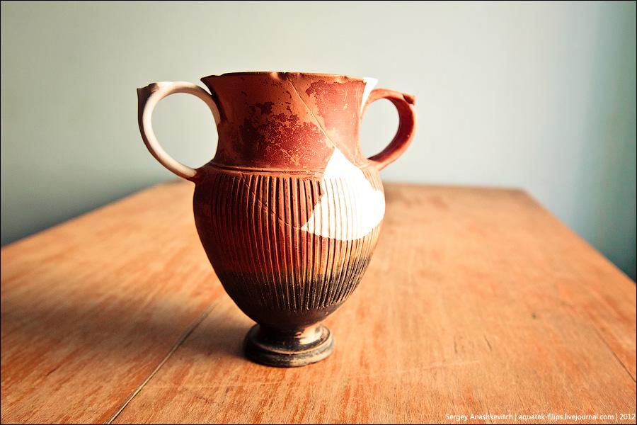 Винные артефакты музея Херсонес